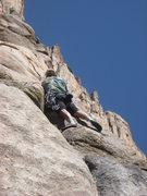Rock Climbing Photo: Jim on one of his climbs.