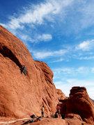 Rock Climbing Photo: Cow Lick Co Crag
