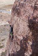 Rock Climbing Photo: Matt on Mac and Ronnie in Cheese