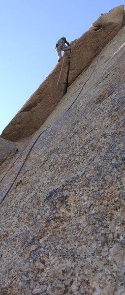 Rock Climbing Photo: Birthday Party 5.7 ** at Pinnacle Peak Park, AZ