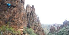 Rock Climbing Photo: Hackberry Creek / Queen Creek, AZ  - climbing New ...