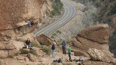 Rock Climbing Photo: Queen Creek, AZ / Climb On !