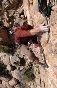 Rock Climbing Photo: Granite Dells, Prescott, AZ / Time Zones 5.9 **