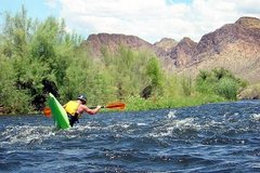 Rock Climbing Photo: Day off from Climbing - Kayaking the Salt River, A...