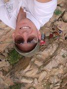 Rock Climbing Photo: Happy @ the Top