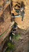 Rock Climbing Photo: Queen Creek, AZ - Living It Down !