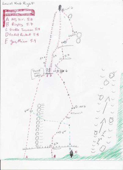 hand drawn topos of the sector (circa Nov 2011)