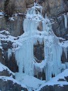 Rock Climbing Photo: Stewart Falls, January 5