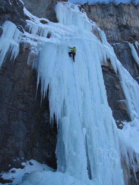Rock Climbing Photo: Stewart Falls, Jabuary 5, 2013