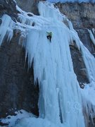 Rock Climbing Photo: Stewart Falls, Jabuary 5, 2013