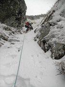 Rock Climbing Photo: Pinnacle Gully, Mt. Washington