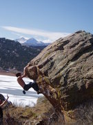 Rock Climbing Photo: South Line.