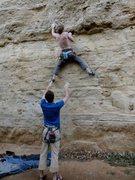 Rock Climbing Photo: The start of Pork