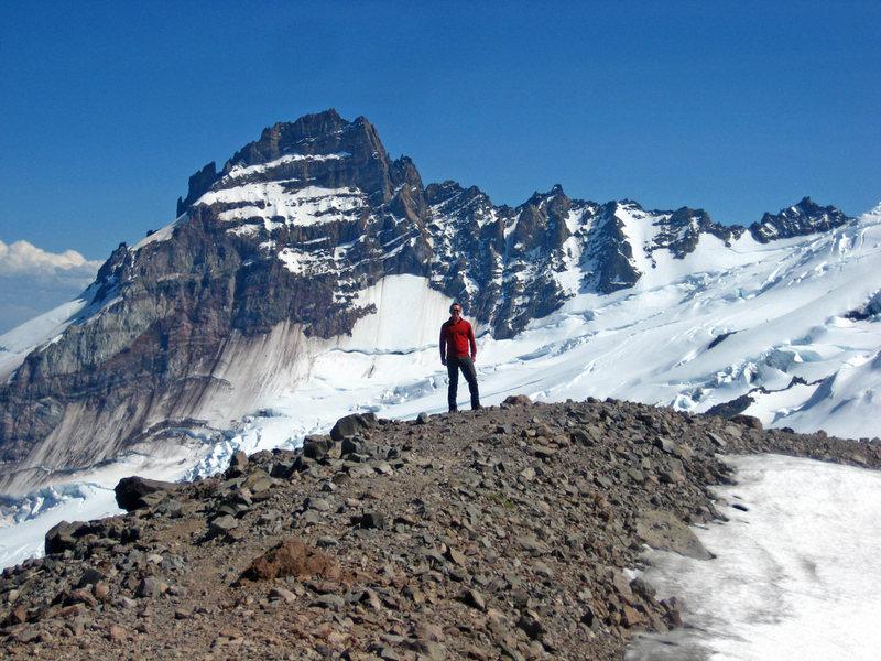 Rock Climbing Photo: Myself taken July 7, 2012 on Mount Rainier.