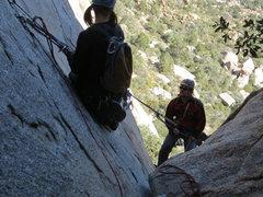Rock Climbing Photo: rap