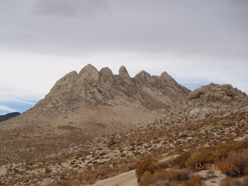 Rock Climbing Photo: The Five Fingers looking West from near the Breakf...
