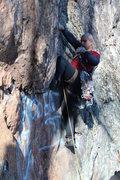 Rock Climbing Photo: Rising Sun Wall  Buddha Bulge (5.10) trad  Crowder...