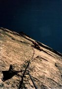 Rock Climbing Photo: Starting out on Robbins Traverse June 1976.