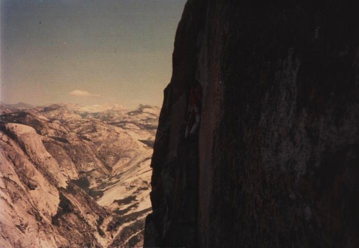 Rock Climbing Photo: Thank God! June 1976.