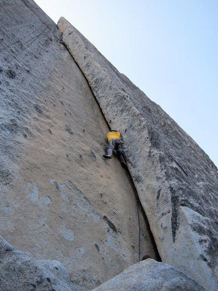 Rock Climbing Photo: Gettin' busy
