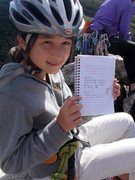 Rock Climbing Photo: Enjoying the summit register