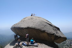 "Rock Climbing Photo: ""once upon a time"" black mtn, CA."