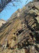 Rock Climbing Photo: Wet Wall