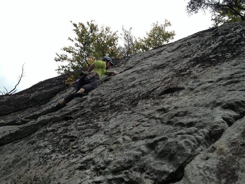 Rock Climbing Photo: Really fun route!!
