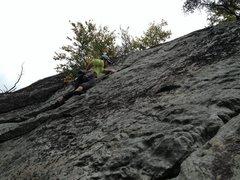Rock Climbing Photo: Really fun route!!