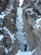 Rock Climbing Photo: Pigeon Waterfall January 5, 2013.