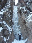 Rock Climbing Photo: Pigeon Waterfall January 5, 2013.