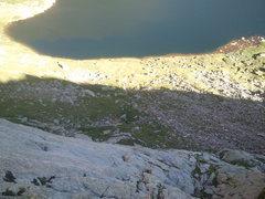 Rock Climbing Photo: Andy enjoying the mellow climbing down low.