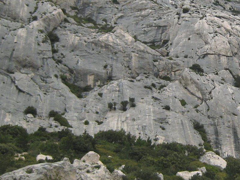 Rock Climbing Photo: Plates Dalles at Sainte Victoire