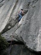 Rock Climbing Photo: In the thick of Boulon de Gauche