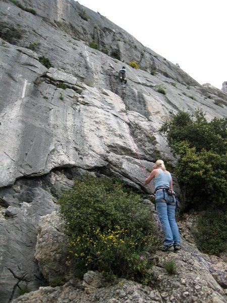 Rock Climbing Photo: Les Apres-Midi de Bab