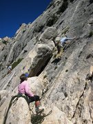 Rock Climbing Photo: Start of Le Souci