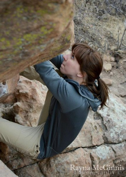bouldering at horse tooth reservoir