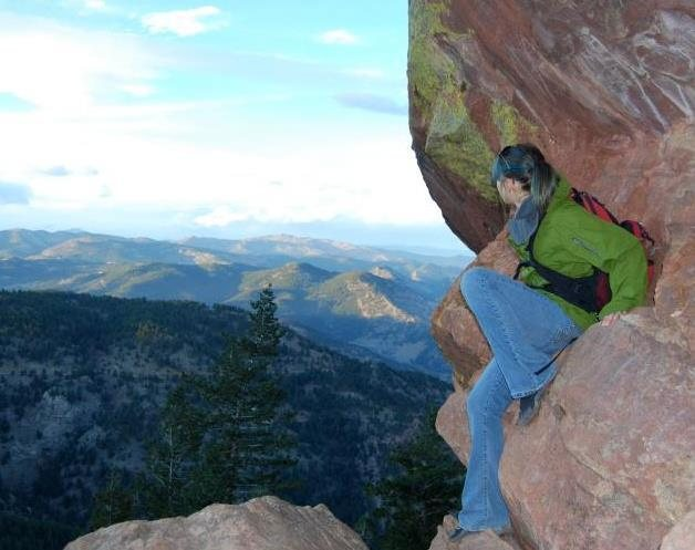 Rock Climbing Photo: hike in Chautauqua