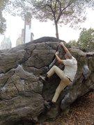 Rock Climbing Photo: Feeding the rat