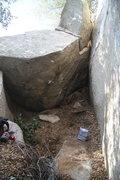 Rock Climbing Photo: El Chorizo - V4 El Cariso Boulders, CA