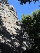 Climbing at Horseshoe Canyon Ranch.