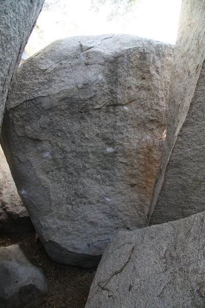 Lost and Losing - V7<br> El Cariso Boulders, CA