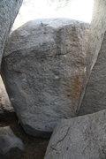 Rock Climbing Photo: Lost and Losing - V7 El Cariso Boulders, CA