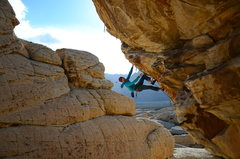 Rock Climbing Photo: Keep Your Powder Dry
