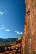 Rock Climbing Photo: Doing the Running Man