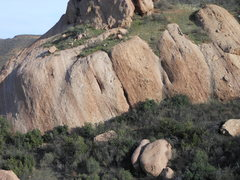 Rock Climbing Photo: The Panhandle from the west.