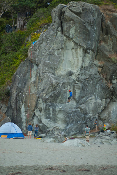 Rock Climbing Photo: Another karen rock picture.....