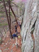 Rock Climbing Photo: Careful on the start