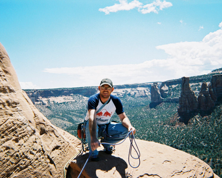 Independence monument, Colorado National Monument early 2000ish