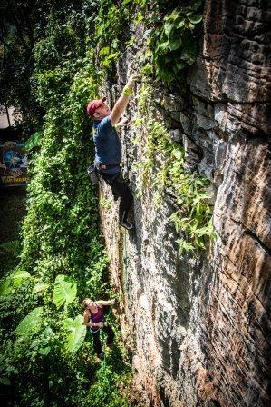 Climbing in Ipoh, Malaysia 2012